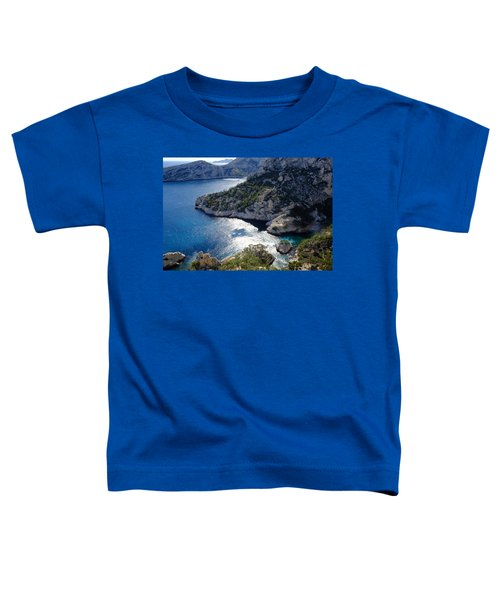 Azure Calanques Toddler T-Shirt