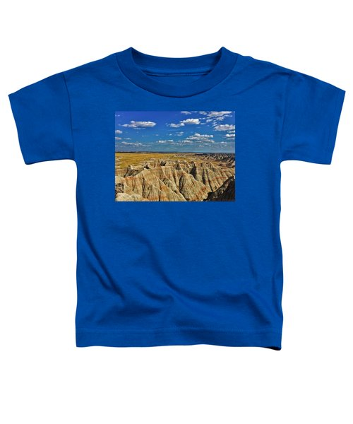Badlands To Plains Toddler T-Shirt