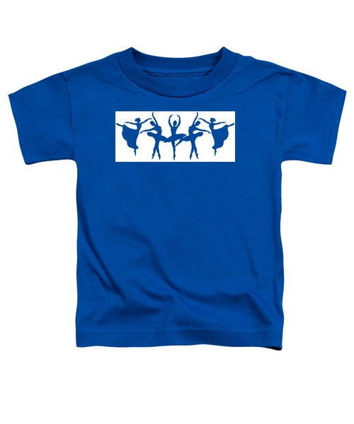 Ballerinas Dancing Silhouettes Toddler T-Shirt
