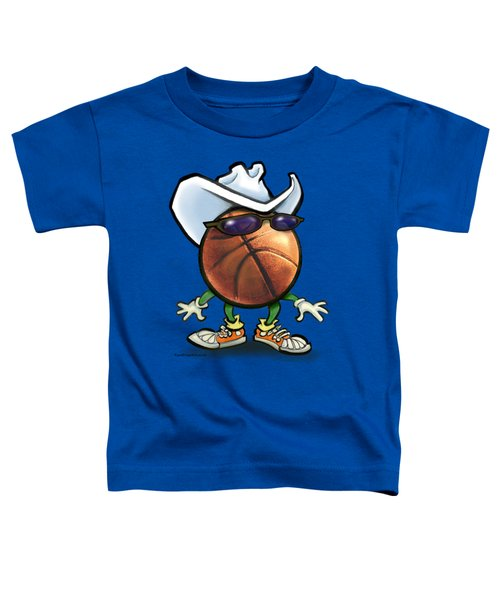 Basketball Cowboy Toddler T-Shirt
