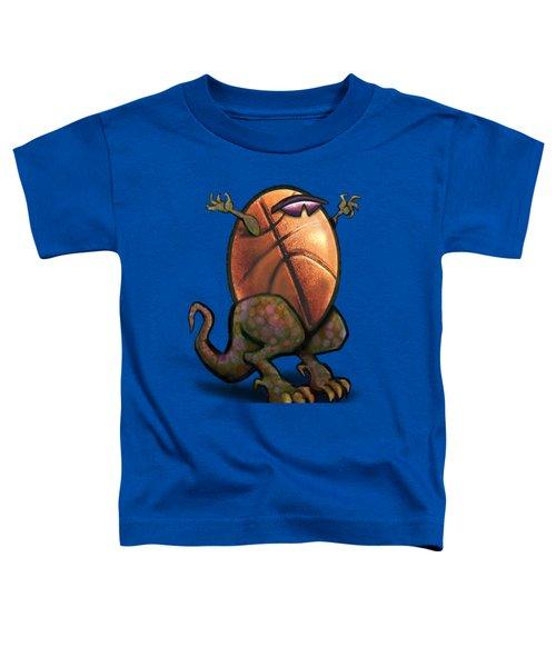 Basketball Saurus Rex Toddler T-Shirt