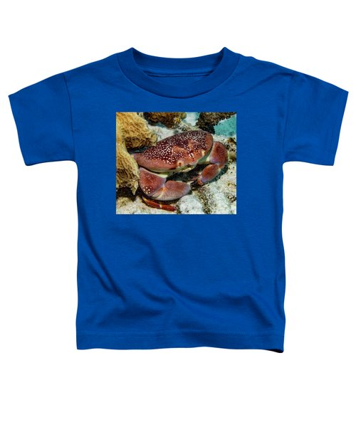 Batwing Coral Crab Toddler T-Shirt