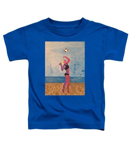 Beach Volleyball Toddler T-Shirt