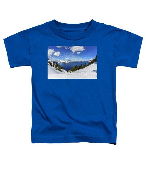 Beautiful Crater Lake Toddler T-Shirt