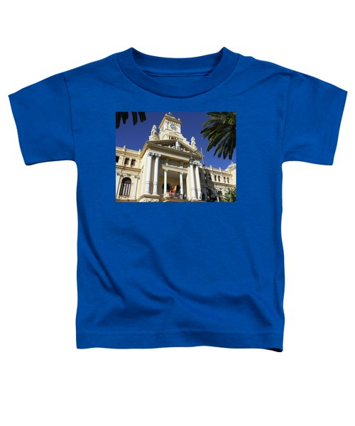 Beautiful Malaga City Hall Toddler T-Shirt