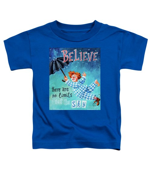 Believe Toddler T-Shirt