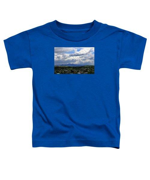 Big Sky Over Oamaru Town Toddler T-Shirt