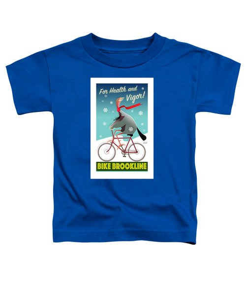 Bike Brookline Toddler T-Shirt