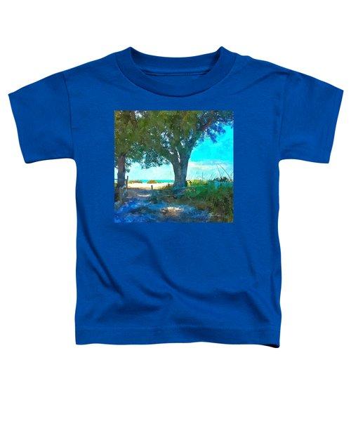 Bike To The Beach Toddler T-Shirt