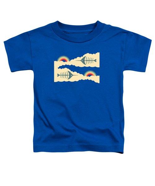Bittersweet - Pattern Toddler T-Shirt by Freshinkstain