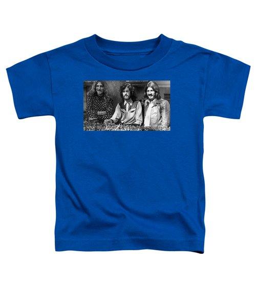 Black And White Zeppelin Toddler T-Shirt