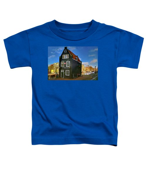 Black House In Jodenbreestraat #1. Amsterdam Toddler T-Shirt