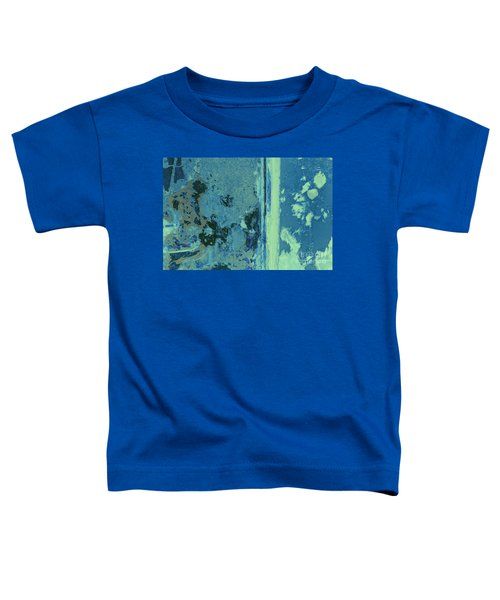 Blue Abstraction Toddler T-Shirt