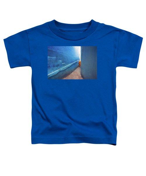 Blue Alleyway Toddler T-Shirt