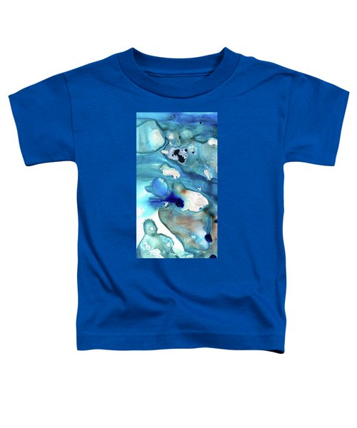 Blue Art - The Meaning Of Life - Sharon Cummings Toddler T-Shirt