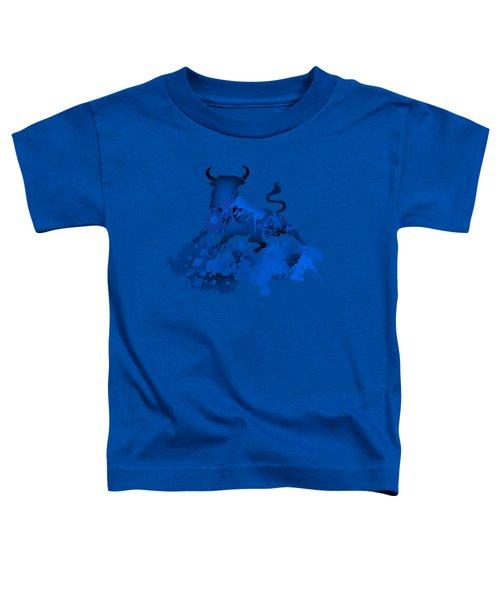 Blue Bull Toddler T-Shirt