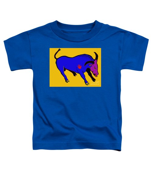 Blue Bull Toddler T-Shirt
