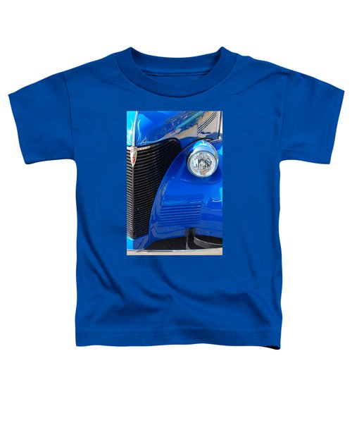 Blue Chevy Toddler T-Shirt
