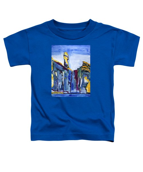 Blue Cliffs, Sea And Sky Toddler T-Shirt