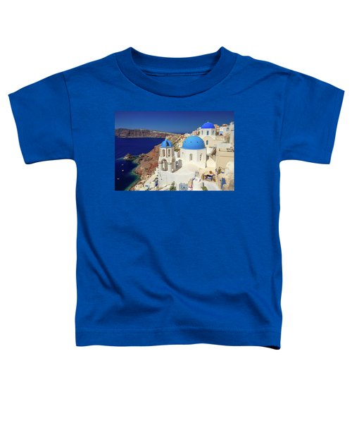 Blue Domed Churches Toddler T-Shirt