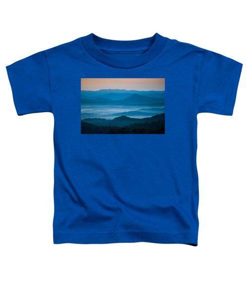 Blue Morning Toddler T-Shirt
