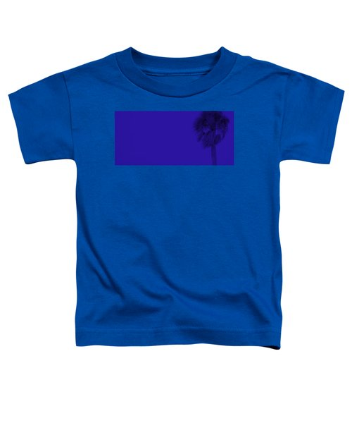 Blue Palm Toddler T-Shirt