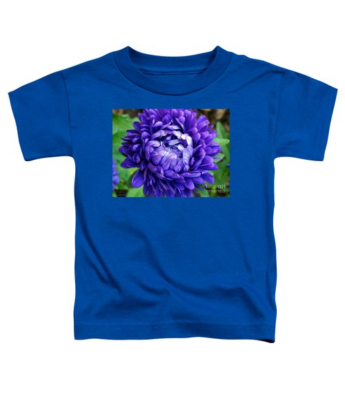 Blue Petals Toddler T-Shirt