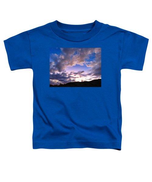 Blue Sunset Toddler T-Shirt