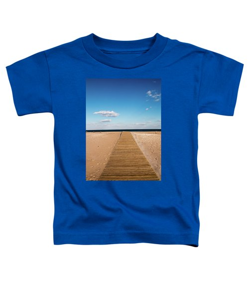 Boardwalk To The Ocean Toddler T-Shirt