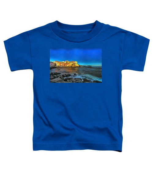 Boccadasse Beach On An Autumn Bright Sunny Day Toddler T-Shirt