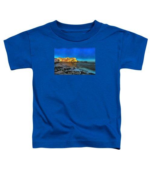 Boccadasse Beach On An Autumn Bright Sunny Day Toddler T-Shirt