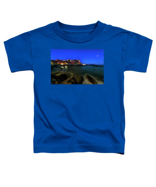 Boccadasse By Night Toddler T-Shirt