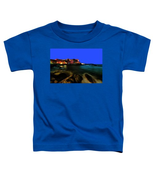 Boccadasse By Night Paint Toddler T-Shirt