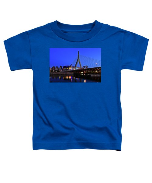 Boston Garden And Zakim Bridge Toddler T-Shirt