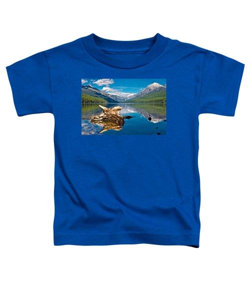Bowman Lake 1, Glacier Nat'l Park Toddler T-Shirt