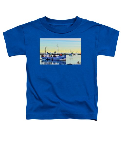 Bringing In The Day's Catch Toddler T-Shirt