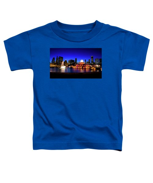 Buckingham Memorial Fountain Toddler T-Shirt