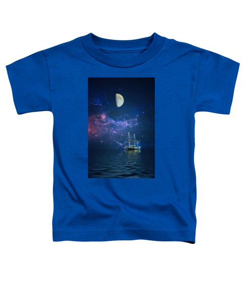 By Way Of The Moon And Stars Toddler T-Shirt
