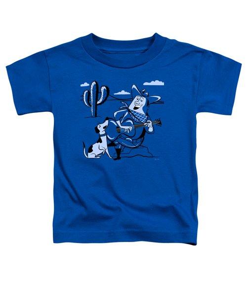 Campfire Cowboy Song Toddler T-Shirt