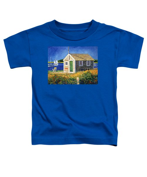 Cape Cod Boat House Toddler T-Shirt