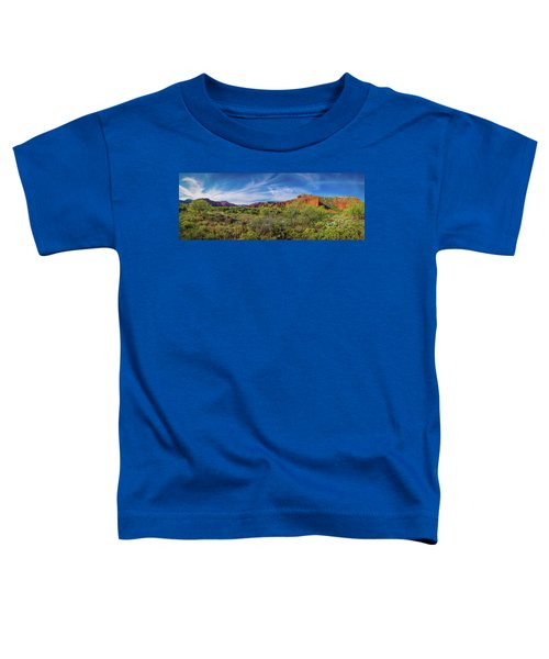 Caprock Canyon Panorama 2 Toddler T-Shirt