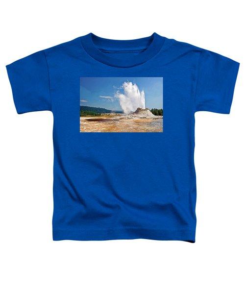 Castle Geyser Toddler T-Shirt