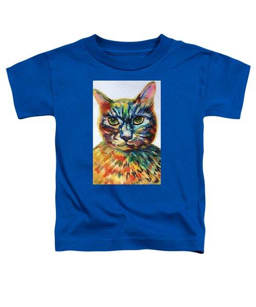Cat A Tude Toddler T-Shirt