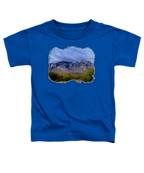 Catalina Mountains P1 Toddler T-Shirt by Mark Myhaver