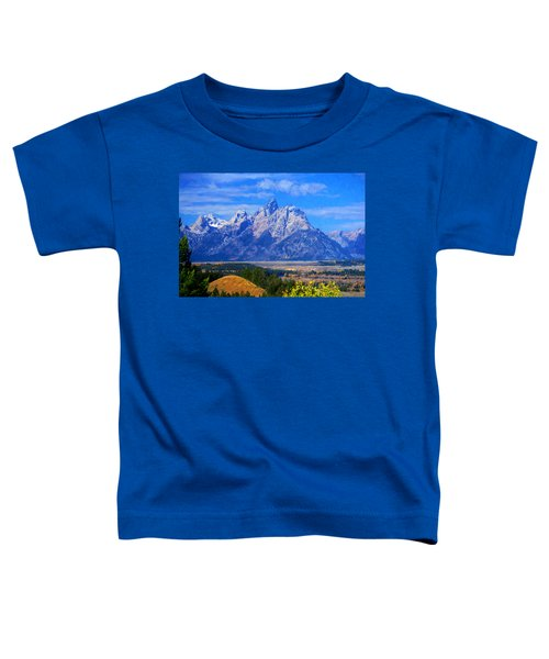 Toddler T-Shirt featuring the photograph Cathedral Group Impressions by Greg Norrell