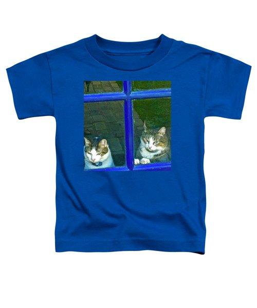 Cats On Baylor Street Toddler T-Shirt