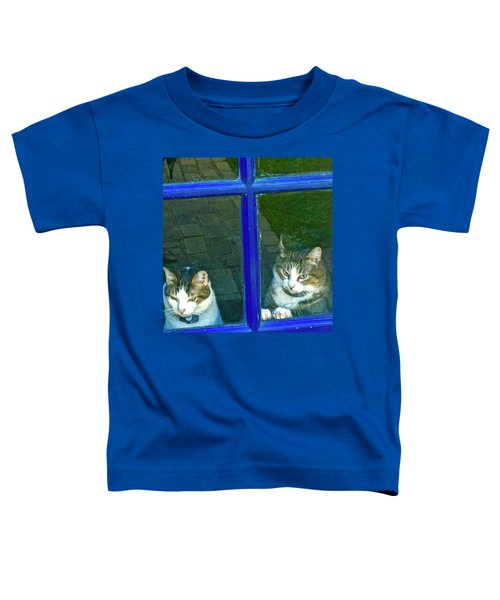 Cats On Baylor Street Toddler T-Shirt