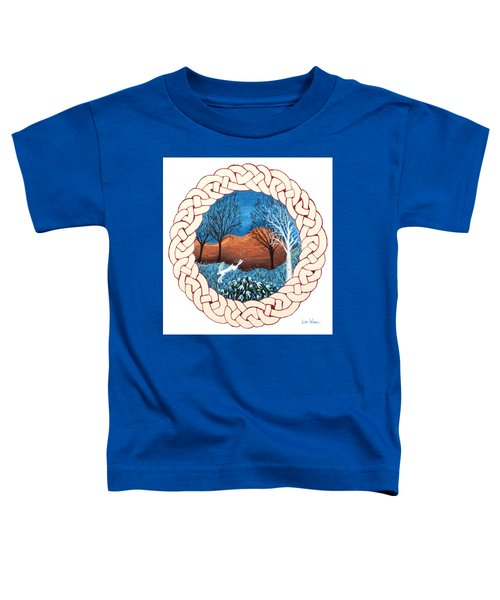 Celtic Knot With Bunny Toddler T-Shirt
