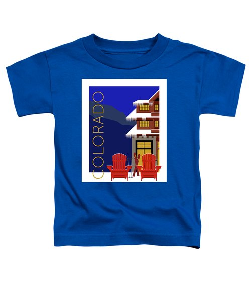 Colorado Chairs Toddler T-Shirt