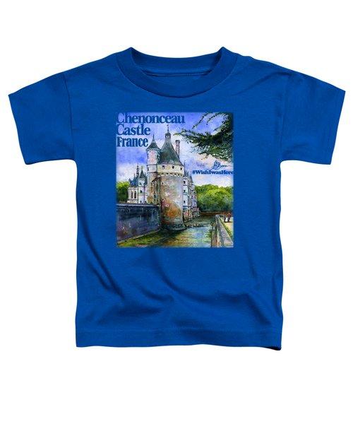 Chenonceau Castle Shirt Toddler T-Shirt